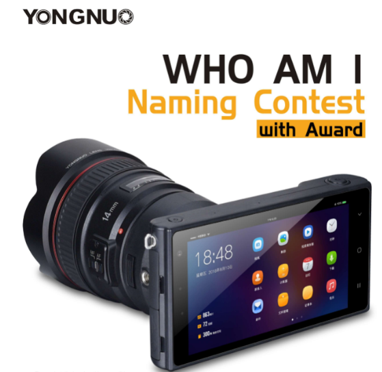 Yongnuo Seems to Be Making a Camera with Android Built into It