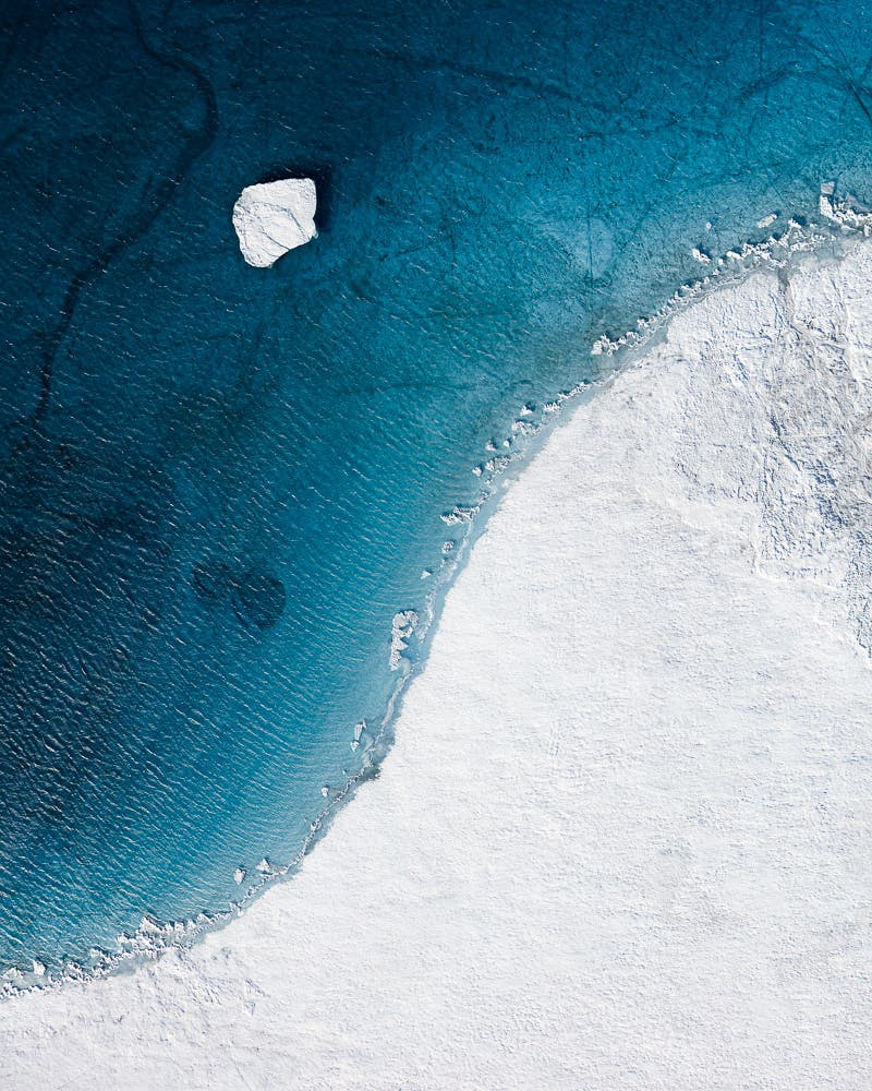 Tom Hegen Explores Global Warming Effects Through the Arctic's Abstract Beauty