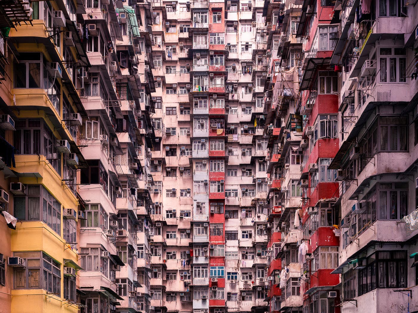Thibaud Poirier Depicts Hong Kong as a Shrine to Modern Architecture
