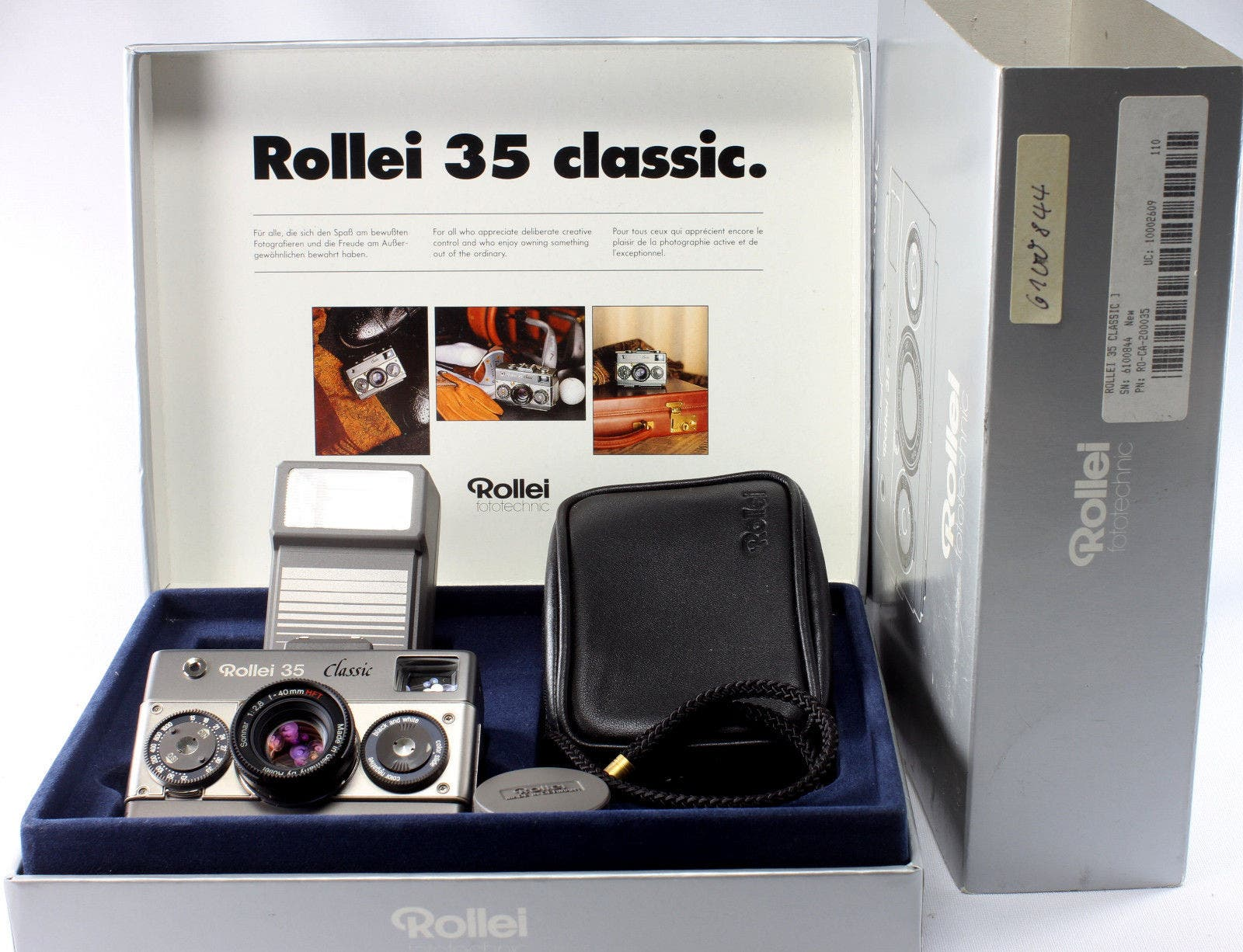 This Rollei 35 Classic Titanium Will Set You Back $2,600
