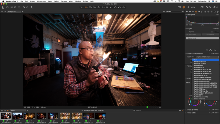 How much is Capture One Pro software?