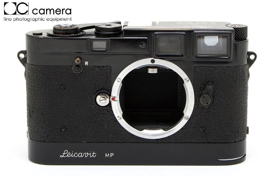 Grab This Extremely Rare Black Paint Leica MP + Leicavit MP Combo for $237,500