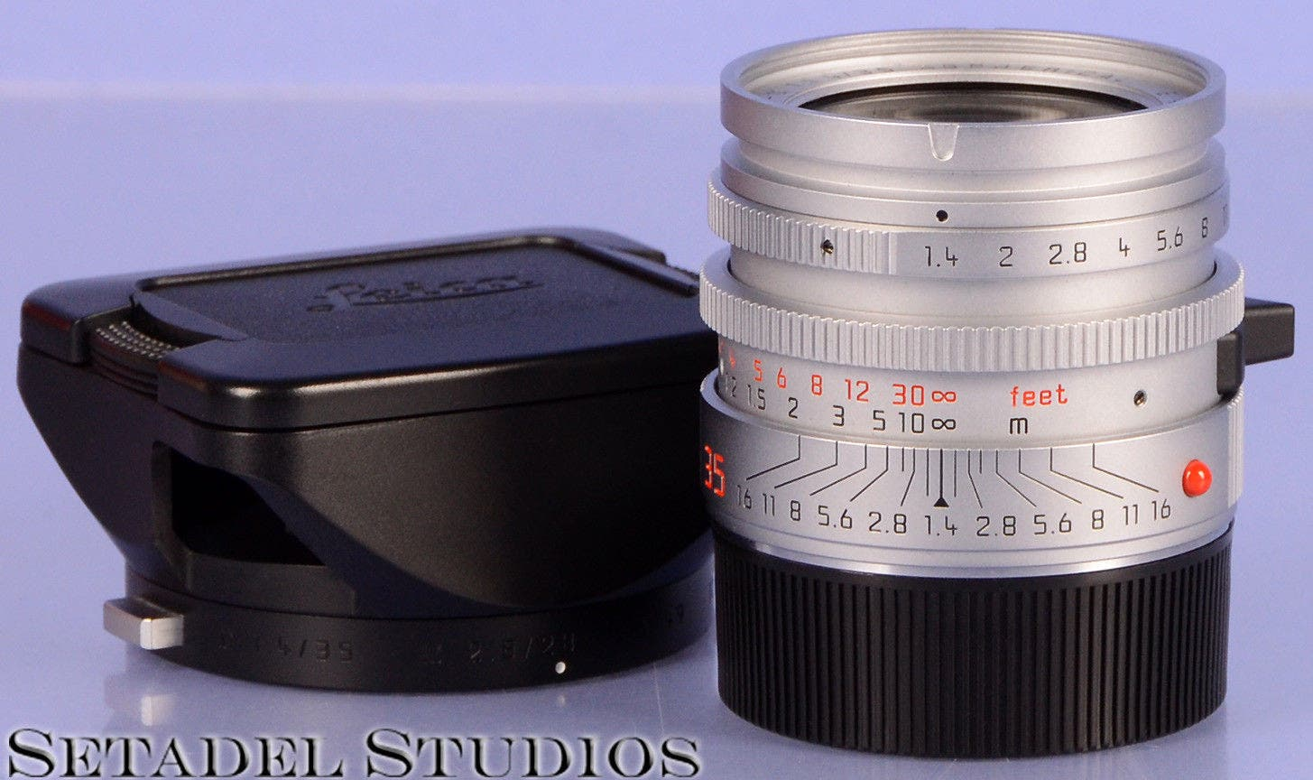 This $750,000 Leica 35mm F1.4 Summilux-M AA Prototype Is Still Up for Grabs