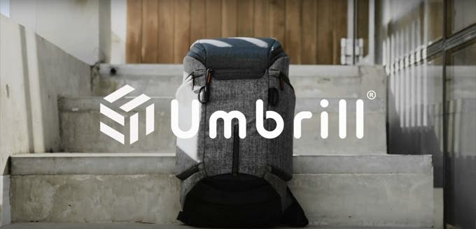 The Umbrill Active Pack Is a Shock-Proof Camera Backpack with a Built-In Airbag