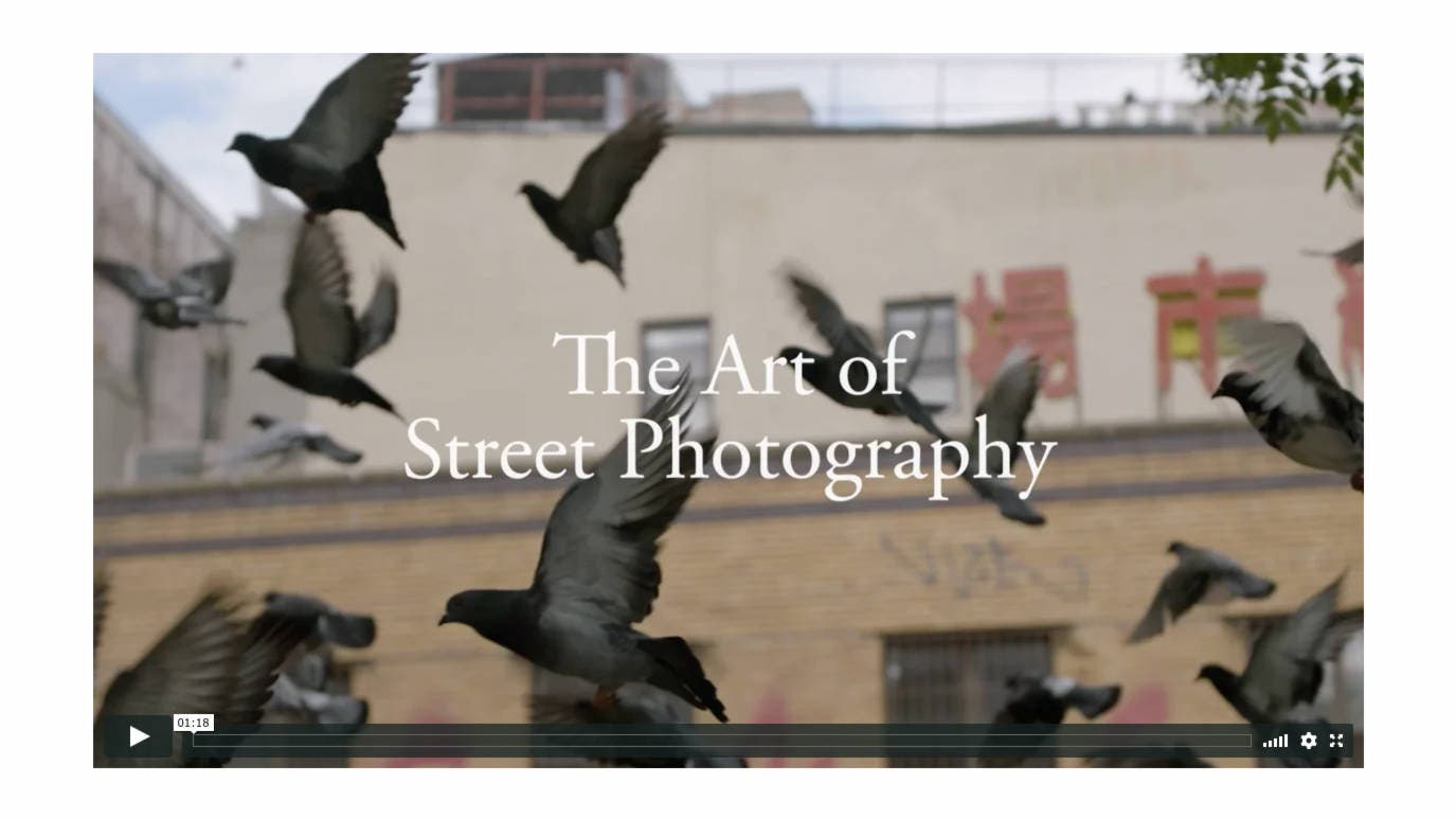 Review: Magnum - The Art of Street Photography (Online Course)