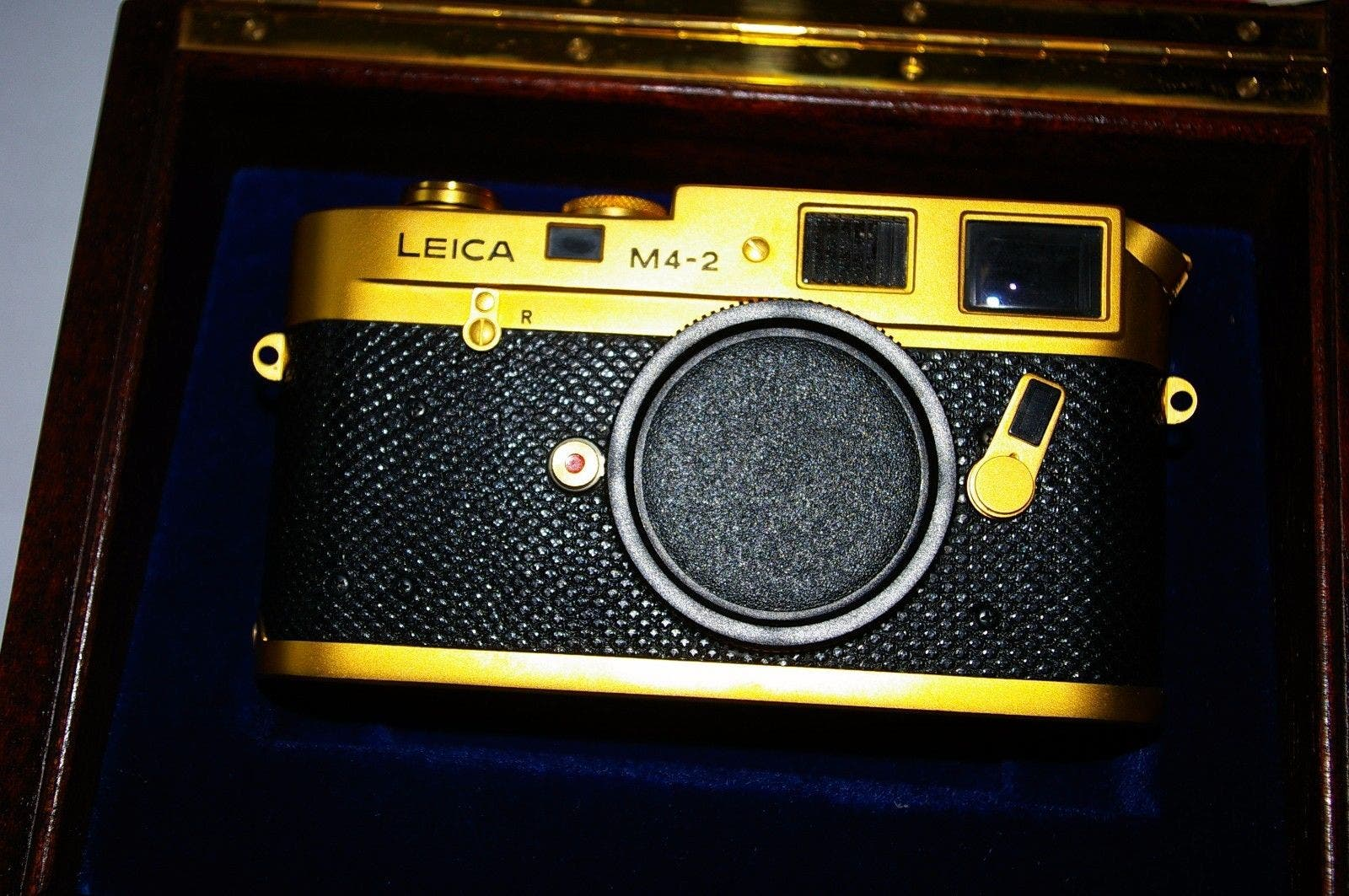 This Stunning 24K Gold Leica M4-2 is Yours for $19,999