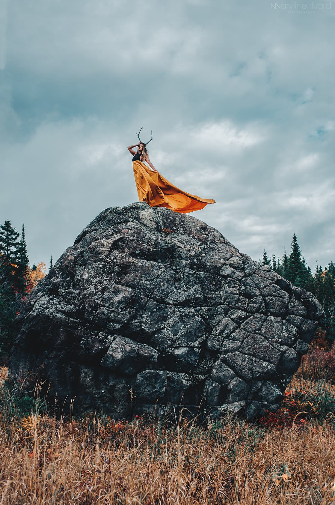 Maryline Rivard's Conceptual Photos Convey Magical Levels of Inspiration