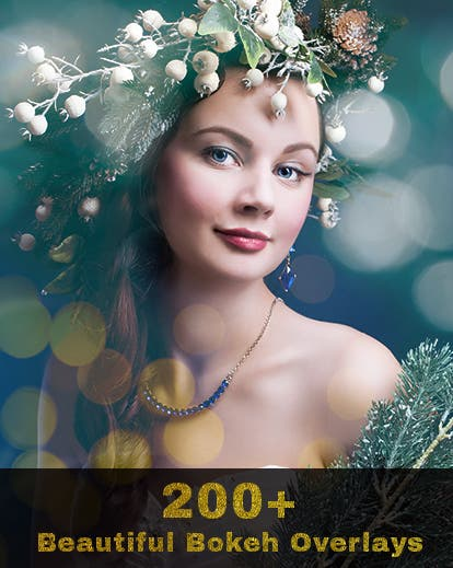 Cheap Photo: Spend $15 and Save $235 on Over 200 Gorgeous Bokeh Photoshop Overlays