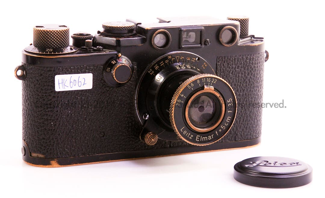 This Rare Leica IIIf was Made for the Swedish Army in 1956