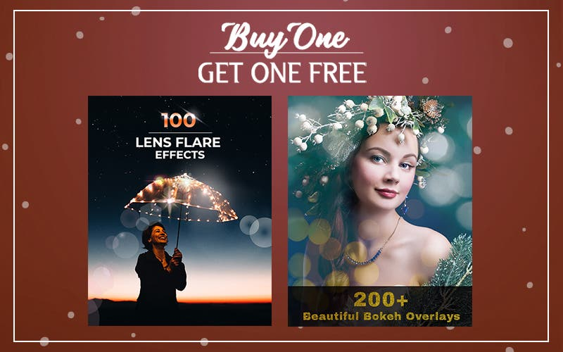 Cheap Photo: Get Over 300 Bokeh and Flare Photoshop Overlays for $19!