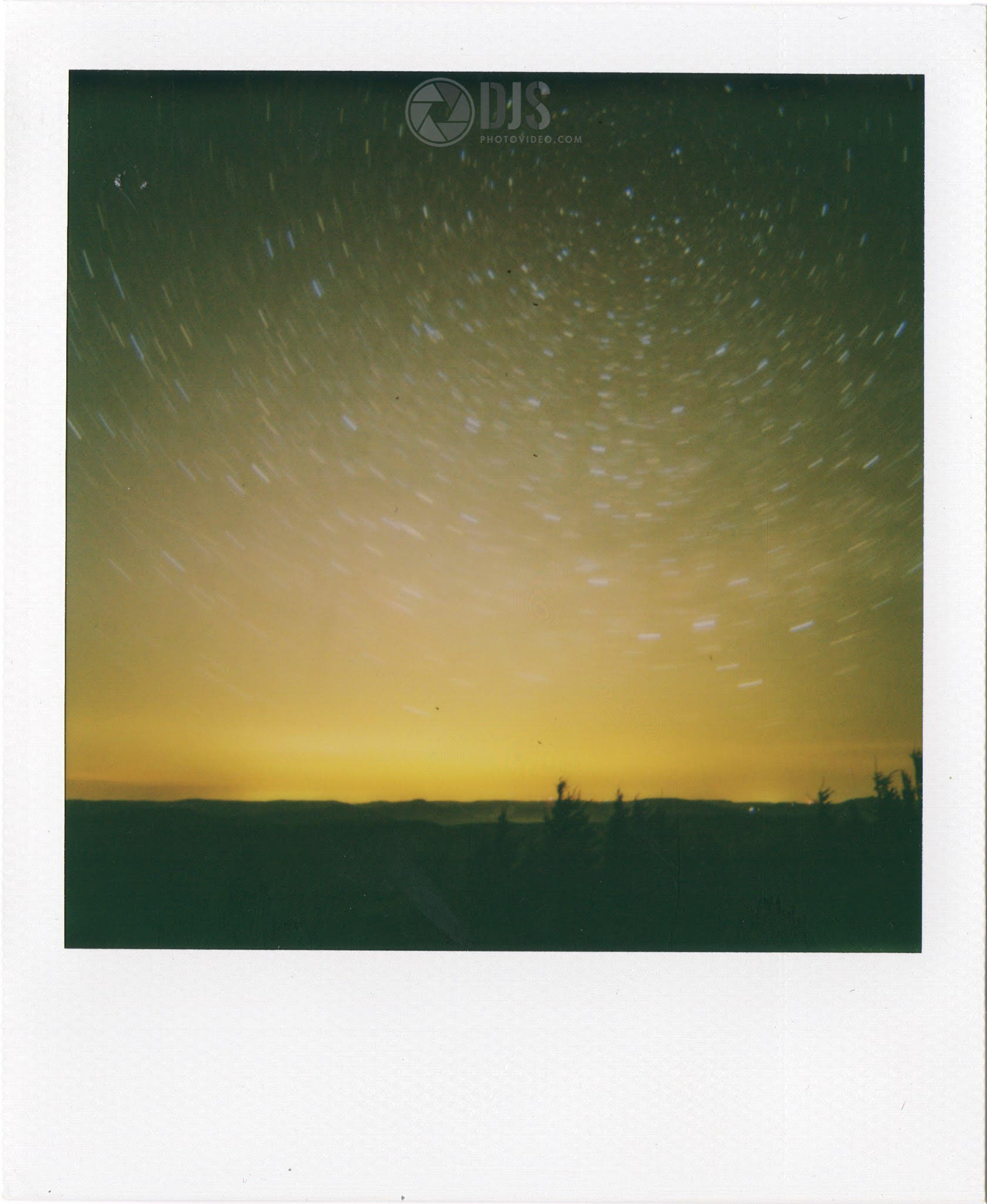 More Stunning Astrophotography Shot Using Polaroid Instant Camera