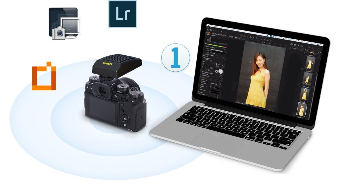 CamFi Pro Plus Provides Fast Wireless Tethering for 500+ Cameras
