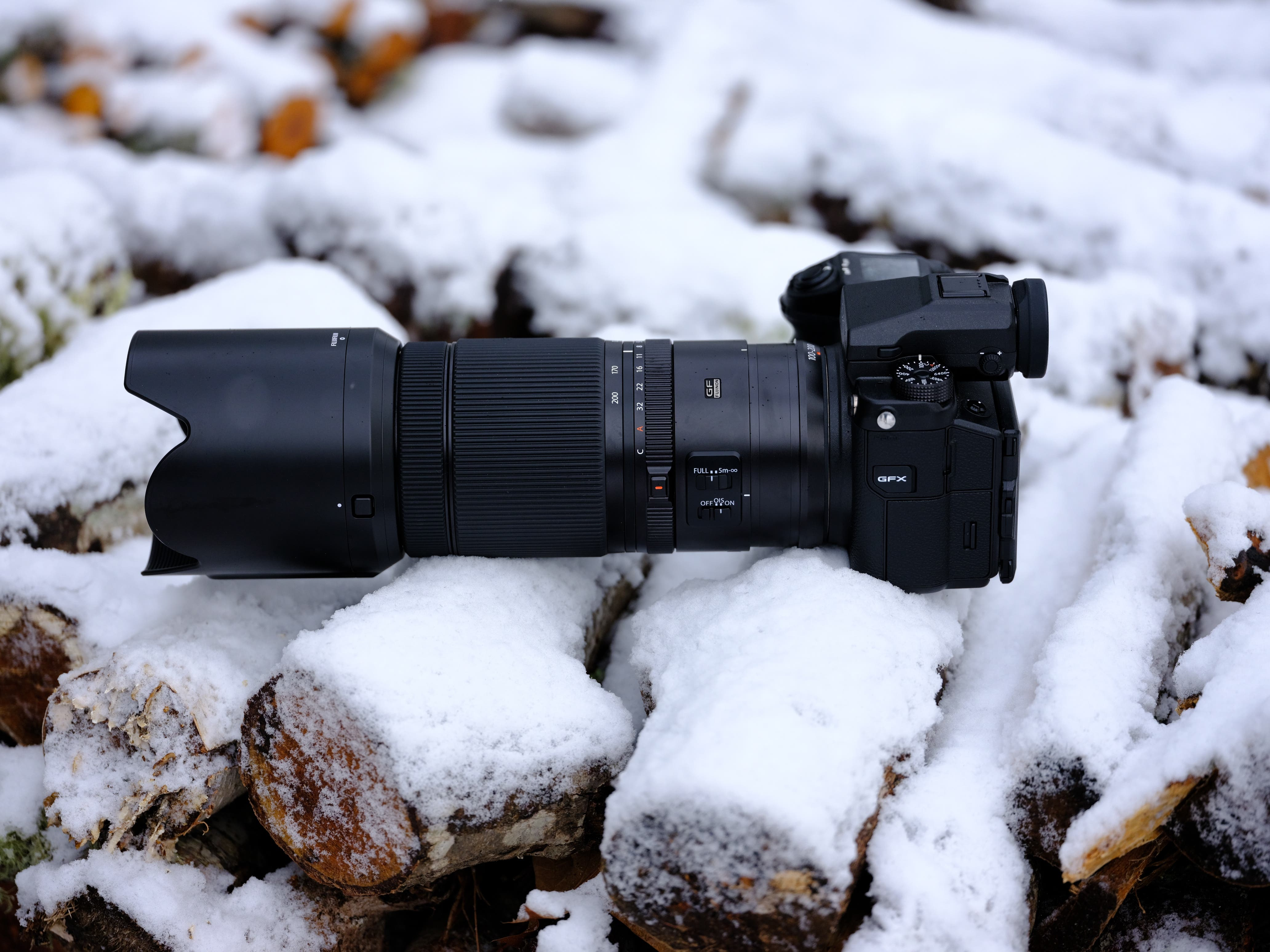 The Fujifilm GF 100-200mm F5.6 R LM OIS WR is for Photojournalism