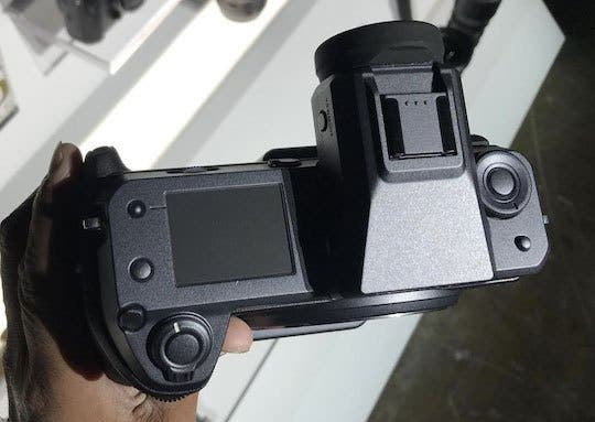 New Images of Fujifilm GFX 100 Surface, Possible X Trans Sensor Inside