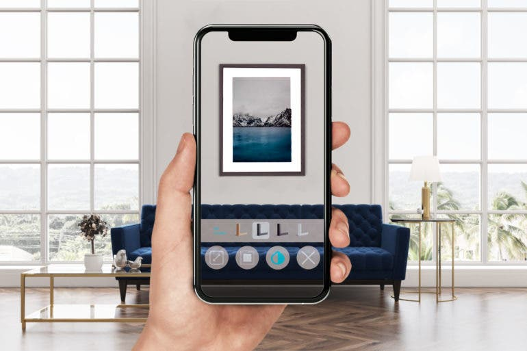 WhiteWall's AR App Shows You How a Photo Print Looks on Your Wall