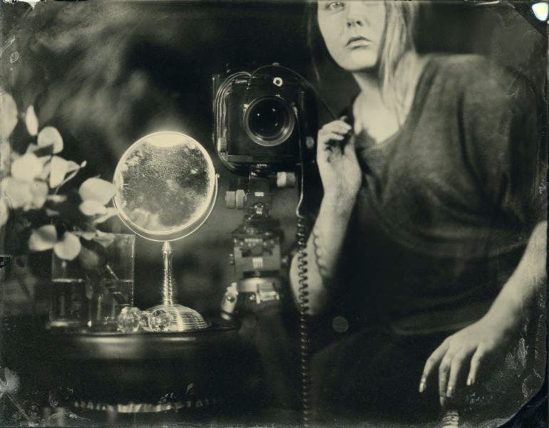 Alchemy Tintype: A Response to Today's Forgettable Images