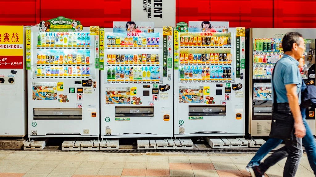 This Photo Zine Showcases the Ubiquitous Vending Machines of Japan