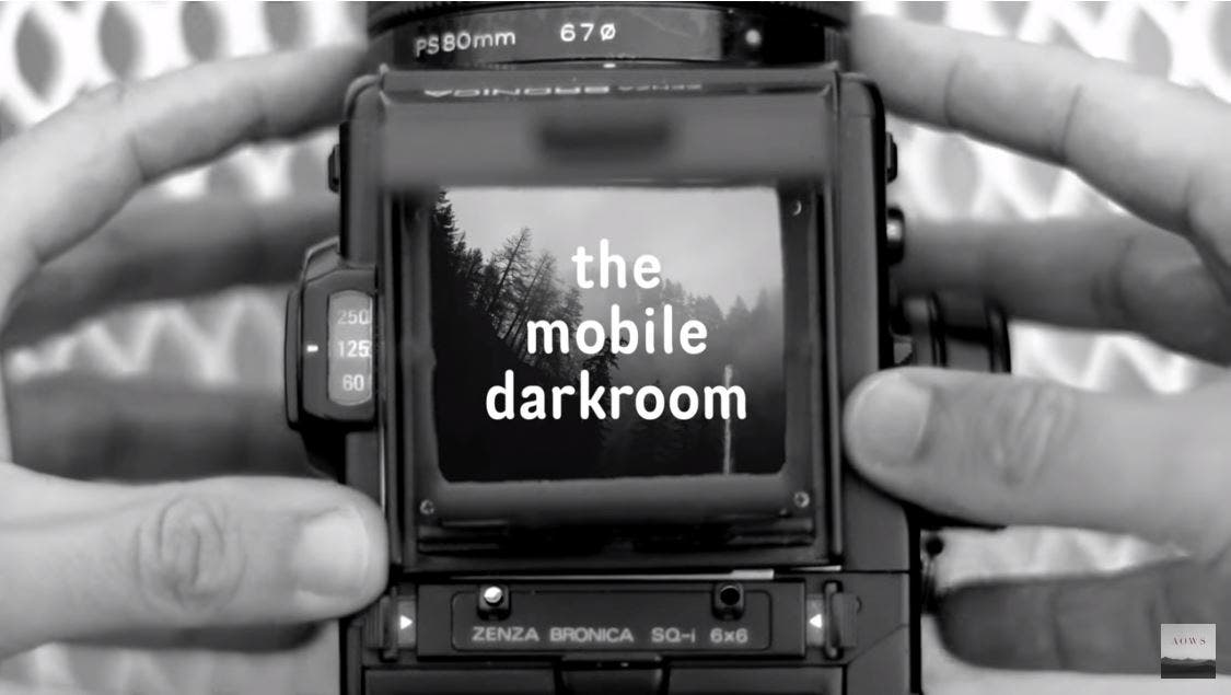 The Mobile Darkroom Can Print Without Negatives and Enlarger