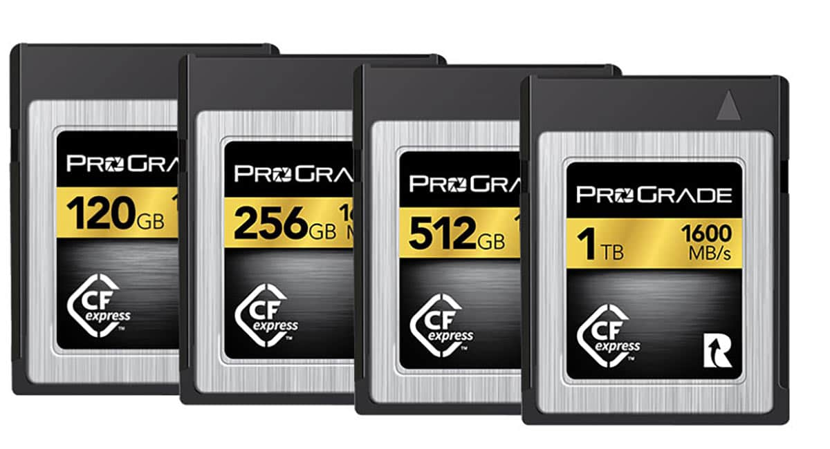 ProGrade Digital's Latest CFexpress Cards Have 1,600 MB/S Read Speed