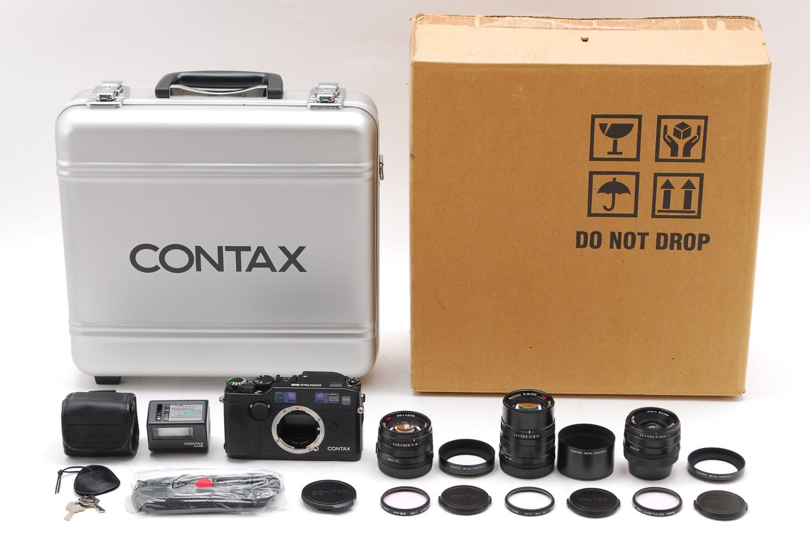 This Rare Unused Contax G2 Set Is Going for a Ton of Money