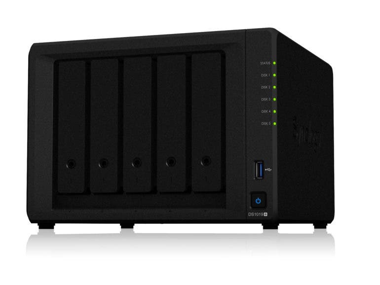 Synology Announces a New Network Storage DiskStation, The DS1019+