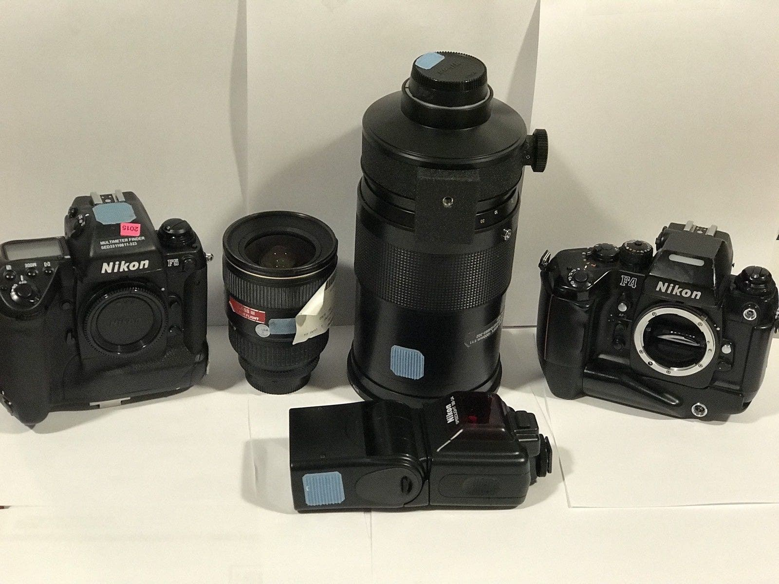 This NASA Nikon Camera and Lens Collection Is Yours for $15,000