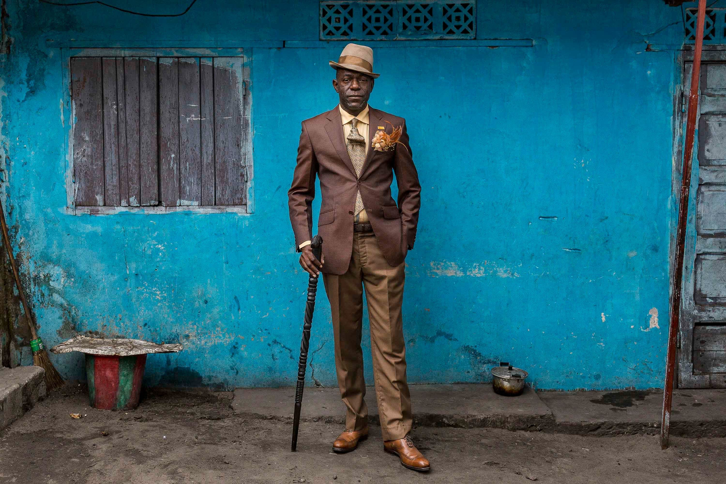 "Tariq Zaidi Lets Us in on the Stylish Circle of the Brazzaville ""Sapeurs"""