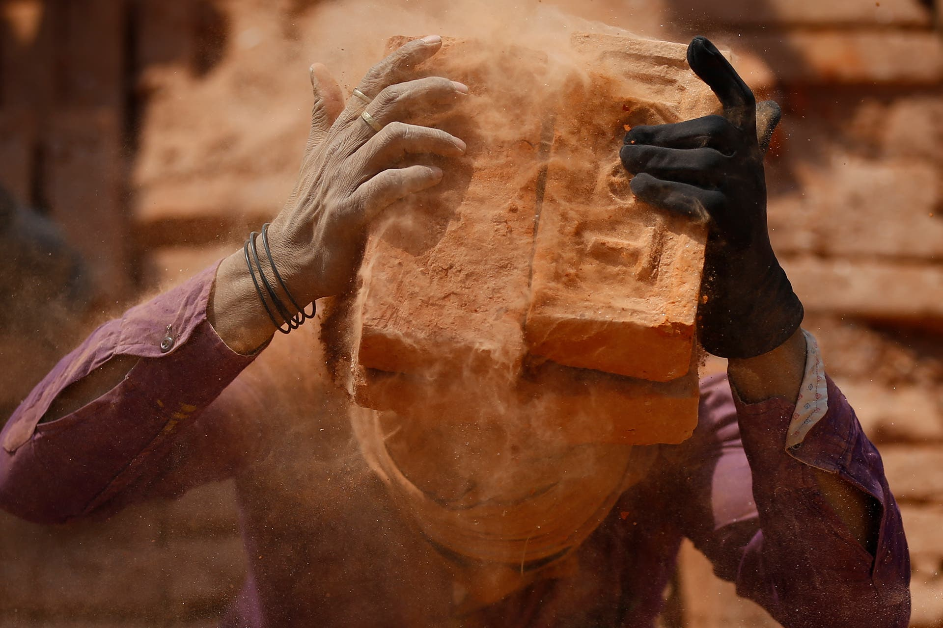 Skanda Gautam Documents What Happens When Bricks are Made
