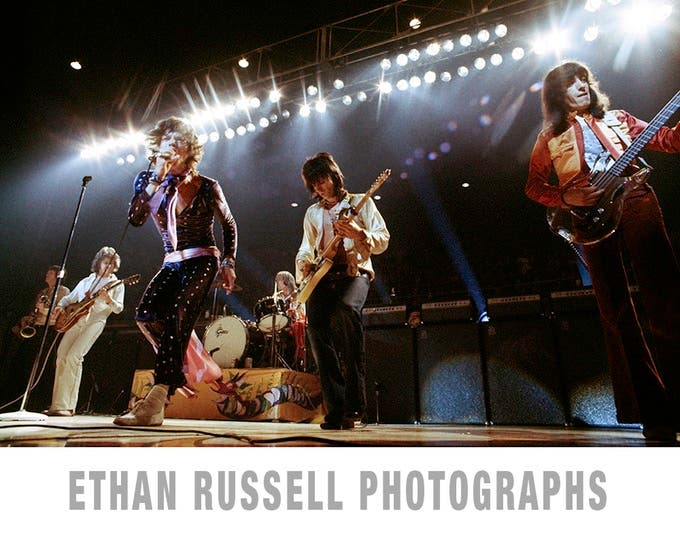 Ethan Russell is Funding a Fine Art Monograph Featuring Music Legends