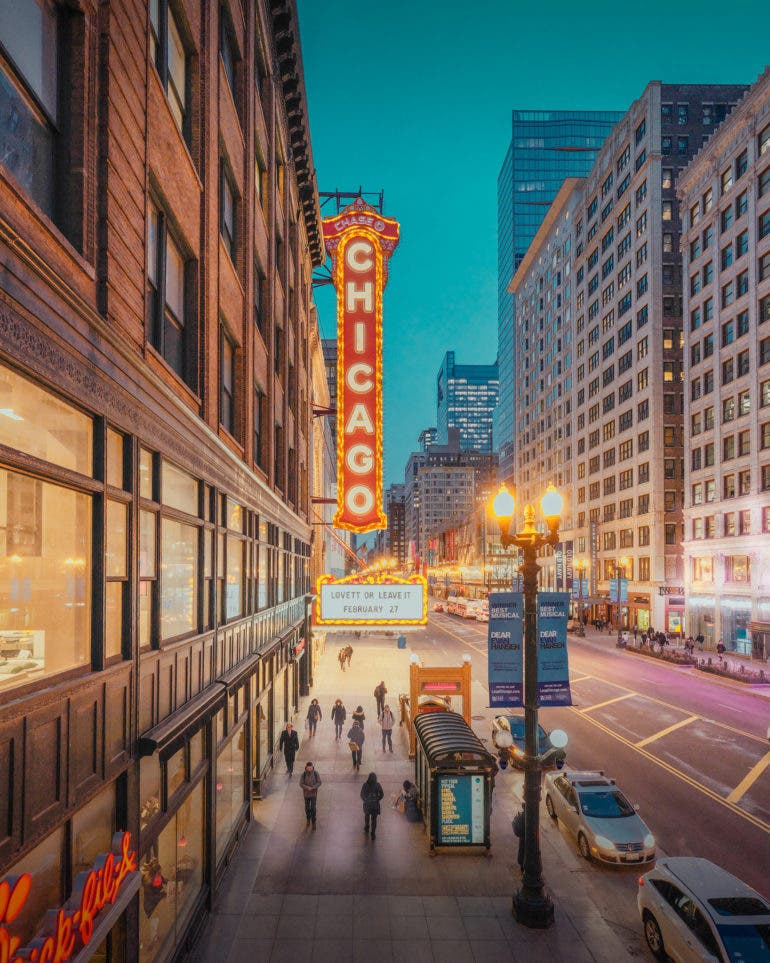 Ludwig Favre Reveals the Beauty of Chicago in a Nostalgic Series