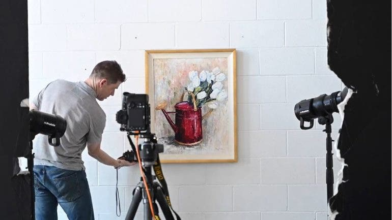 Tips On Photographing Artwork Beautifully And Accurately