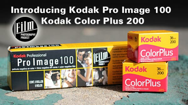 Kodak Pro Image 100 and Color Plus 200 Films Now Available in the US