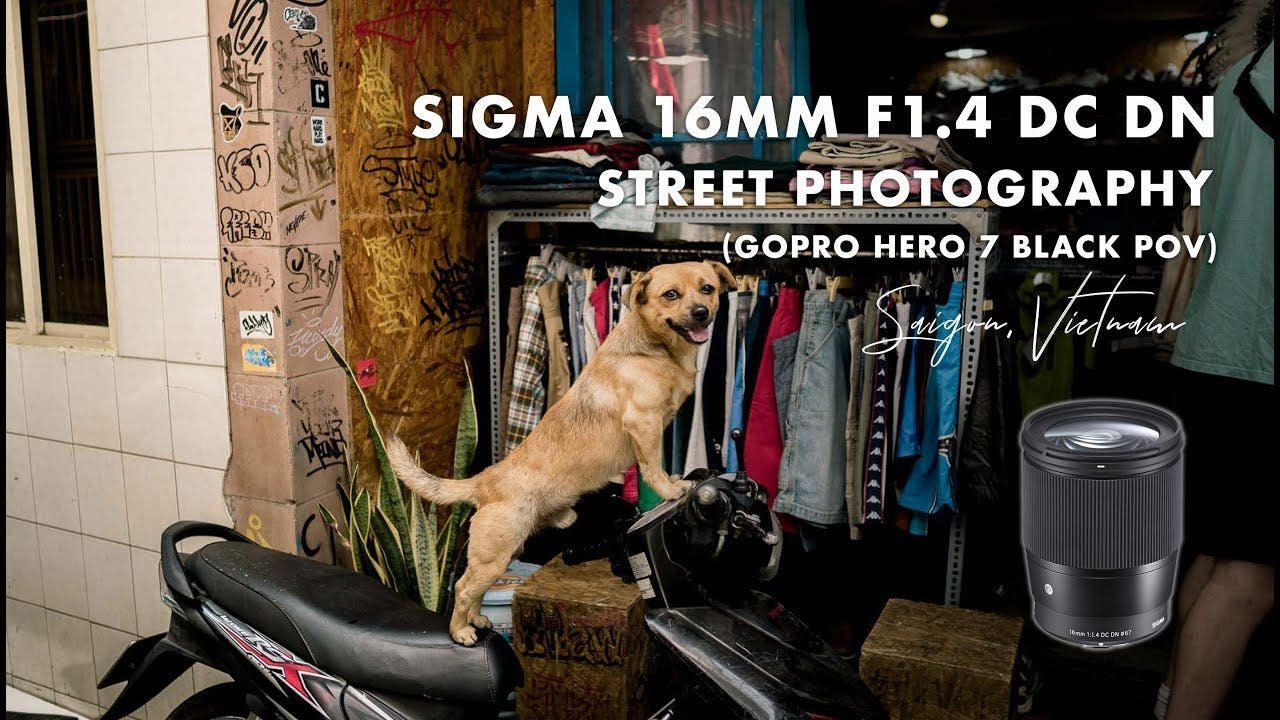 Street Photography With the Sigma 16mm F1.4 Art Lens
