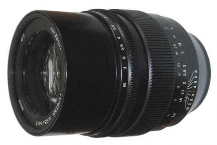 The Zenitar 50mm f0.95 for Sony FE Will Need Their Awful Focus Peaking