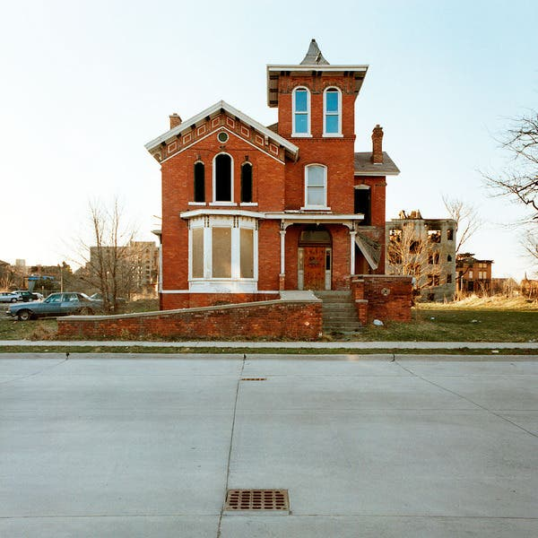 Kevin Bauman Paints a Portrait of Detroit's Past in Abandoned Houses