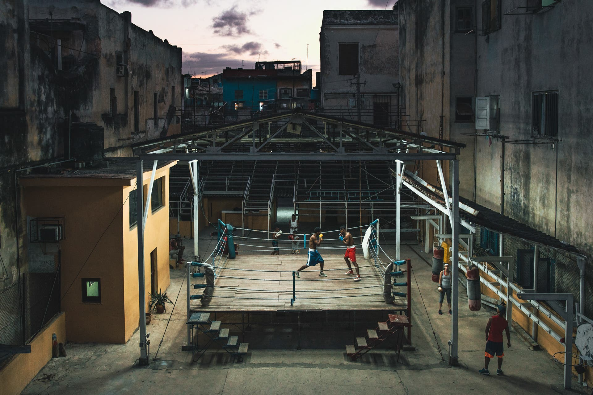 Photographing Inside Cuba's Legendary Boxing Gym