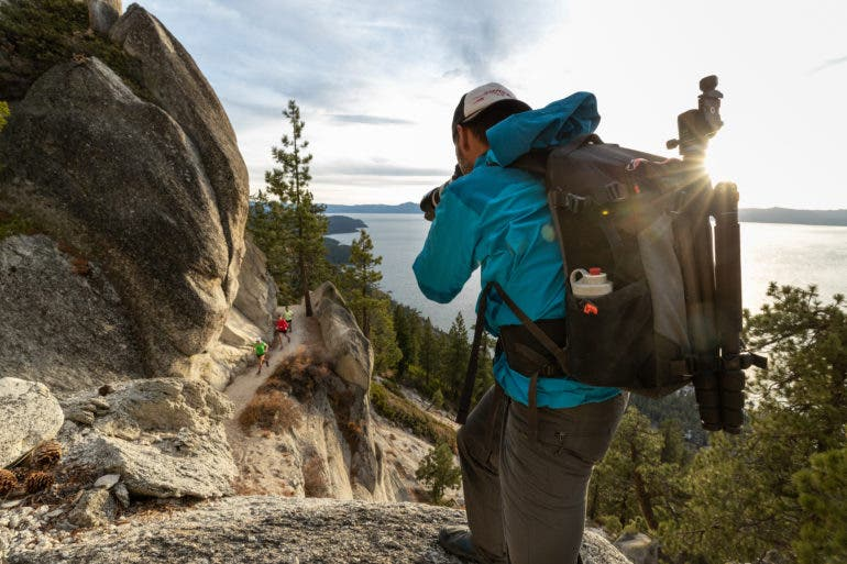 The MindShift PhotoCross 15 Backpack has Side Access and Weatherproofing