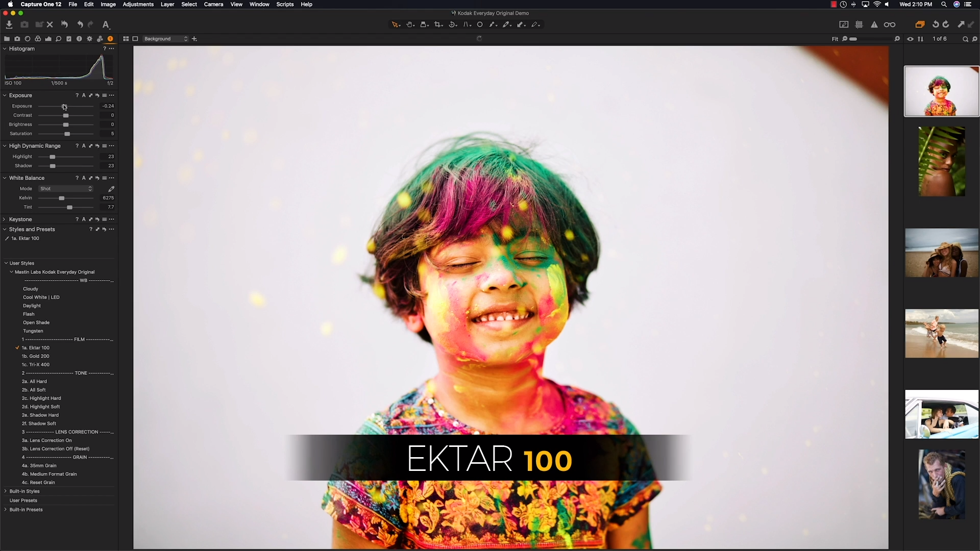 The New Mastin Style Pack Gives The Look of Kodak Film in Capture One