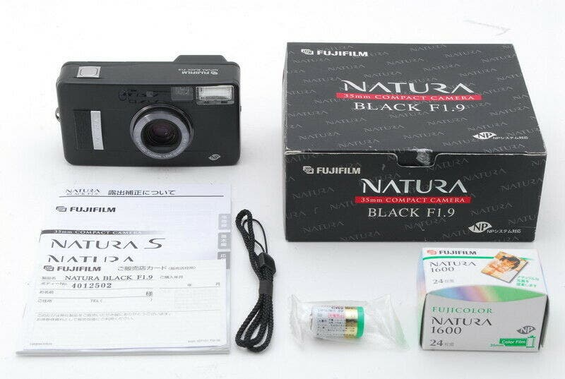 Here's Your Chance to Grab an Unused Fujifilm Natura Black F1.9