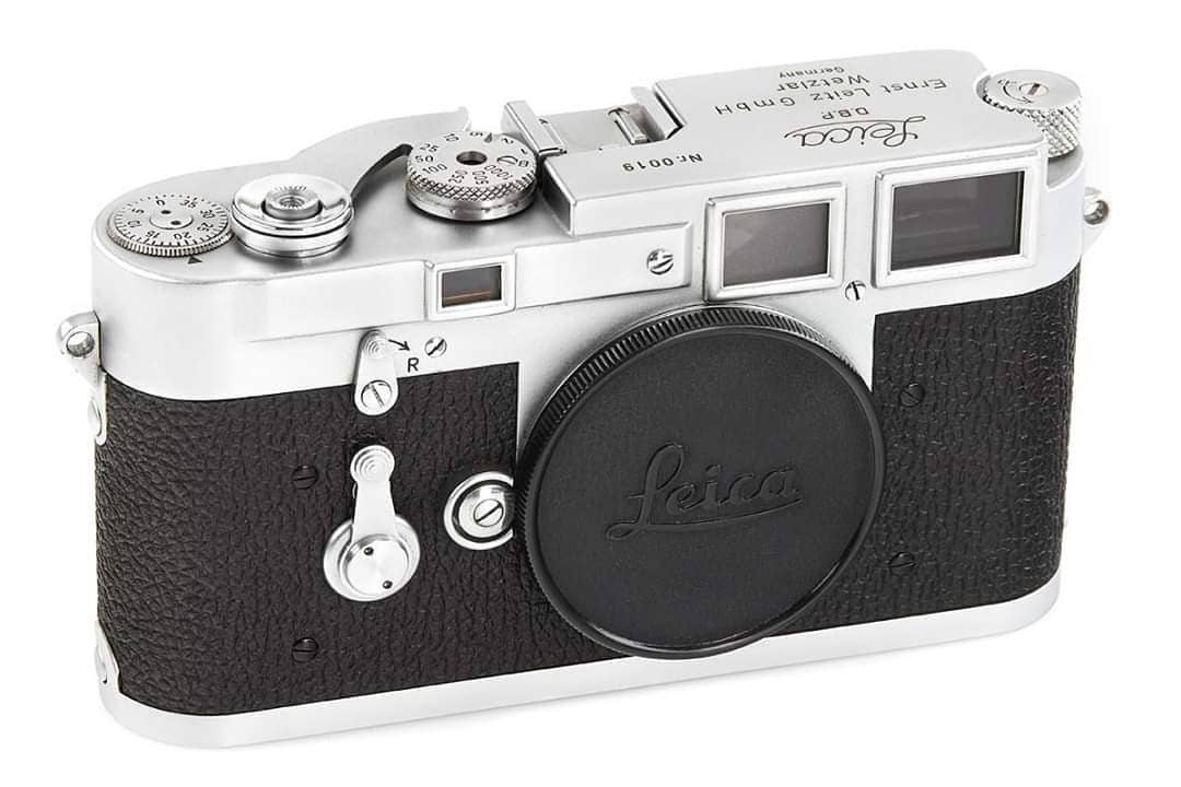 Extremely Rare Leica M3 Prototype Awaits at Leitz Photographica Auction