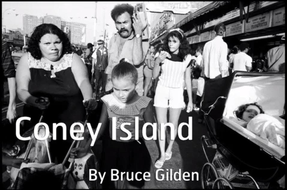 Bruce Gilden Discusses His Coney Island Street Photos
