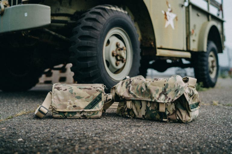 Domke Honors US Military Veterans with Limited Edition Camo Camera Bags