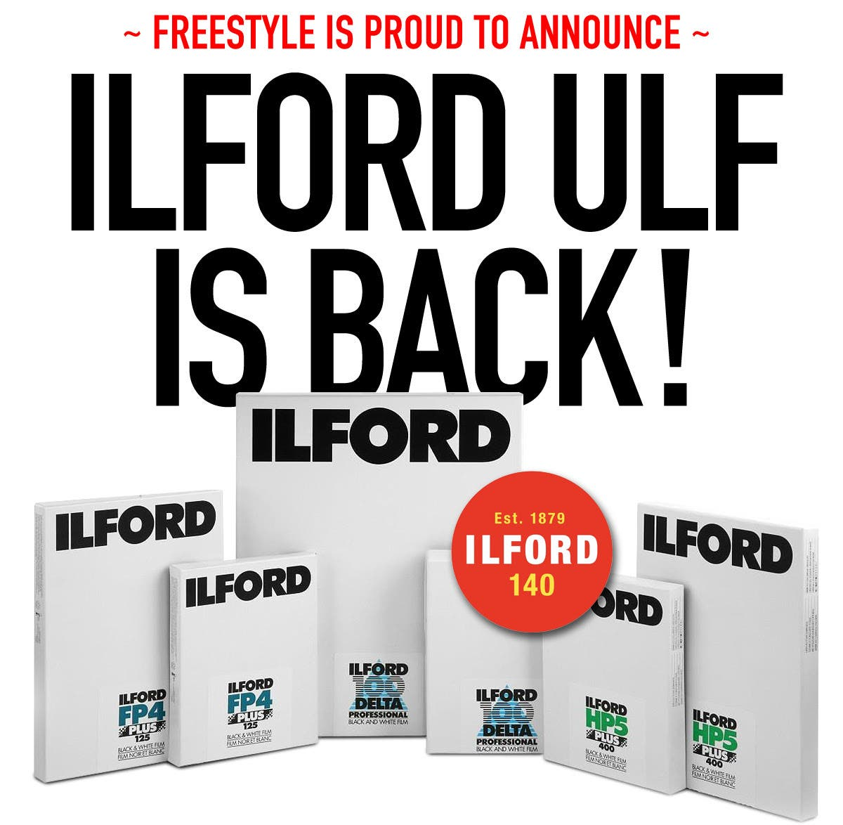 The ILFORD Ultra Large Format Ordering Window is Back!