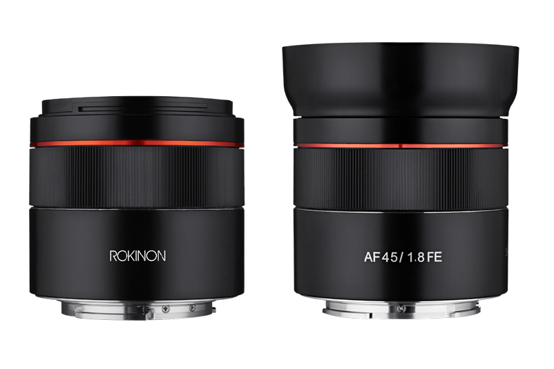 The Rokinon AF 45mm f1.8 is Odd Compared to Other Sony FE Lenses