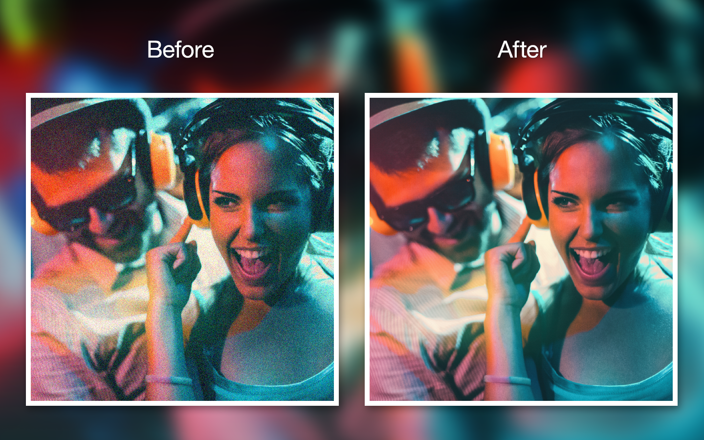 Cheap Photo: Movavi DeNoise Can Clean up Your Images Fast! Only $14!