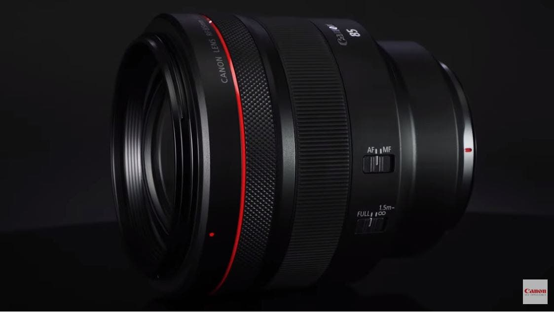 Upcoming Canon RF 85mm F1.2L USM Promises More Pop Than an F1.4 Lens