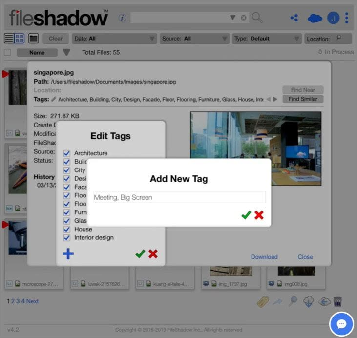 FileShadow Creates Search Tags Across Various Photo Storage Services