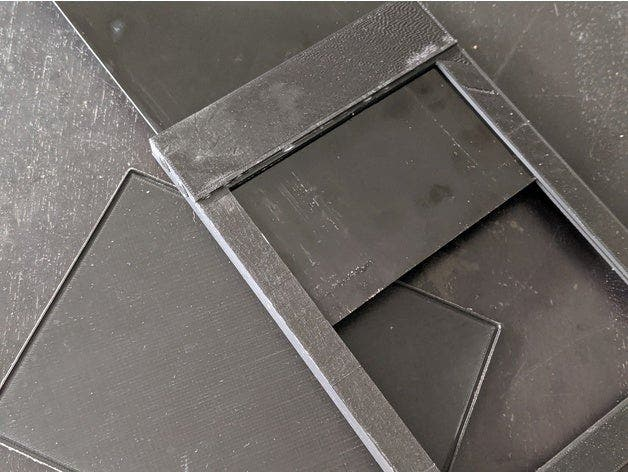 Make Your Own 5×7″ Wet Plate Holder with a 3D Printer