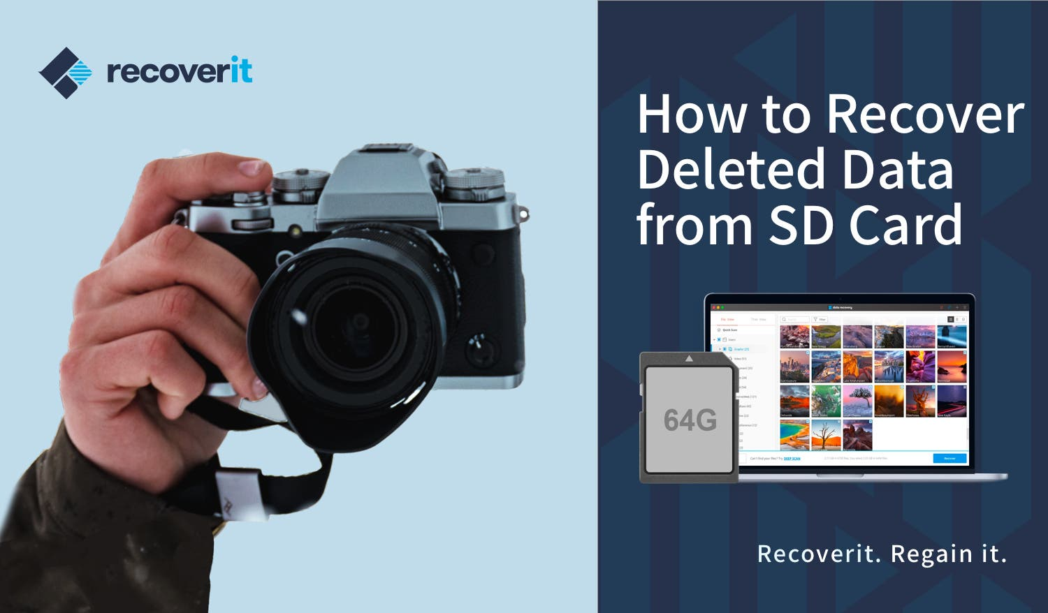 Using Wondershare Recoverit 8.0 for SD Card Data Recovery