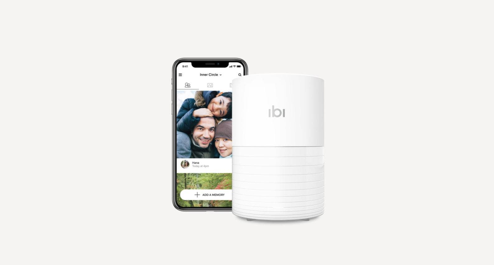 Smart Photo Manager ibi Lets You Share Photos by Invitation Only